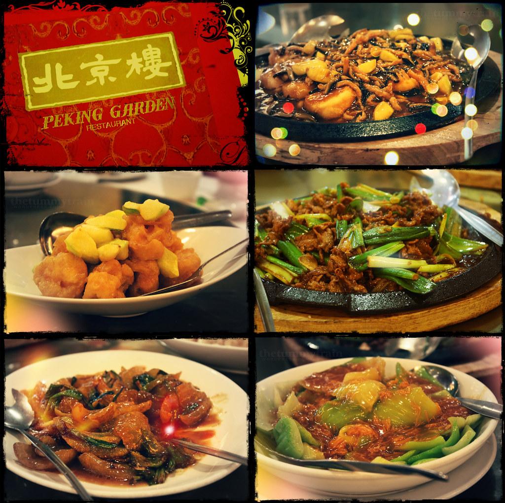 Of things lately eaten and enjoyed the tummy train - New peking restaurant garden city ...