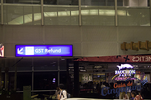Tax Refund, Changi Airport