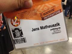 SXSW Badge