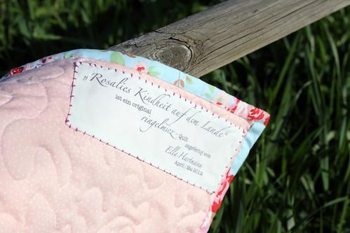 rosalies kindheit auf dem lande.