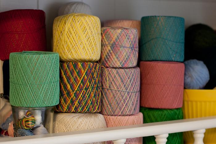 Yarn & Thread Stash