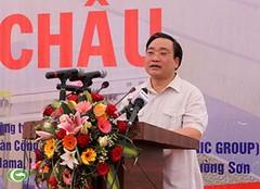 Phó Thủ tướng Hoàng Trung Hải phát lệnh ngăn sông Thủy điện Lai Châu