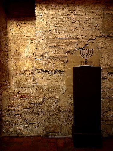 east wall of The Cordoba Synagogue