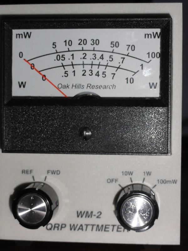 Oakhills QRP meter