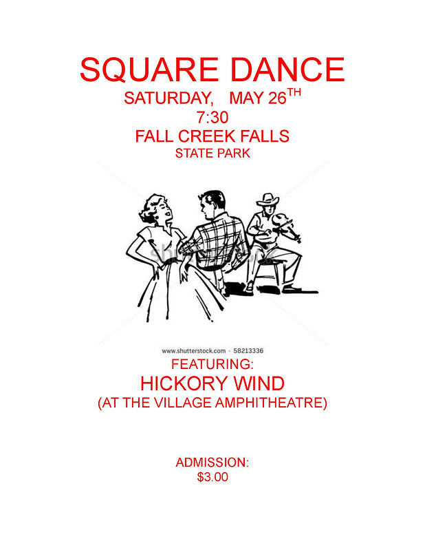 Square Dance Poster - Fall Creek Falls State Park