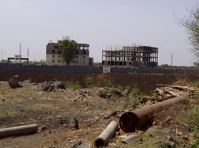 Under construction Kanchan Vrundavan - Visit Kanchan Vrundavan, 1 BHK & 2 BHK Flats at Koregaon Mul, near Uruli Kanchan Pune 412202