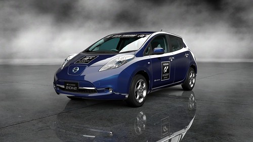 GT Academy 2012: Nissan Leaf G (GT Academy Version) '11_73Front