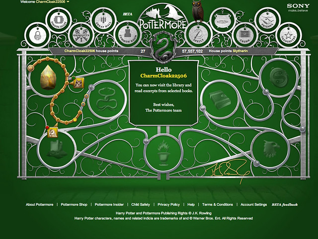 Pottermore - TheNerdNest