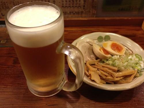 生ビールのセット