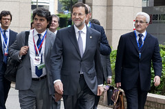 Spanish Prime Minister Mariano Rajoy arrives at the European Council, Brussels, 23 May 2012 by European Council