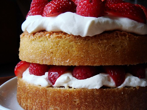 Strawberry Raspberry Shortcake