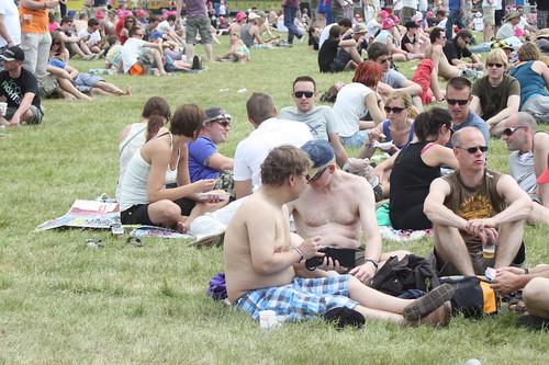 Pinkpop 2012 mashup foto - Waarom naakt?!
