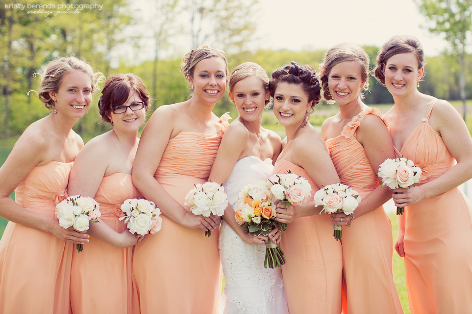 Beautiful bridesmaids!