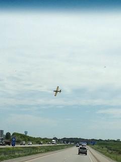 Glider Doing Tricks