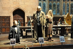 Flitwick, Mad Eye Moody and Trelawney's costumes