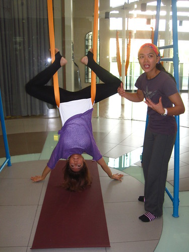 My Kikay Afternoon: Antigravity Yoga