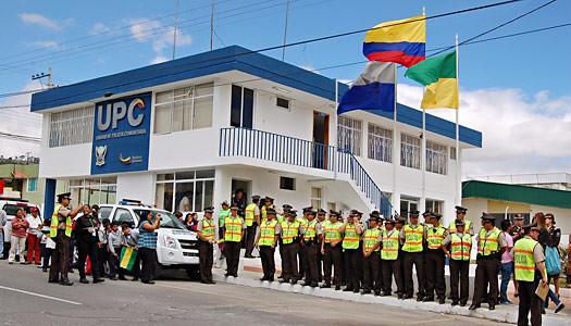 Cayambe cuenta con una nueva y remodelada unidad de for Ministerio del interior policia nacional del ecuador