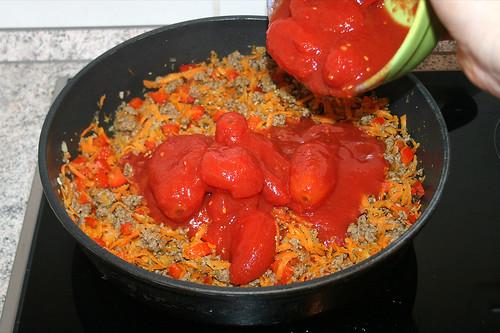 25 - Tomaten hinzufügen / Add tomatoes