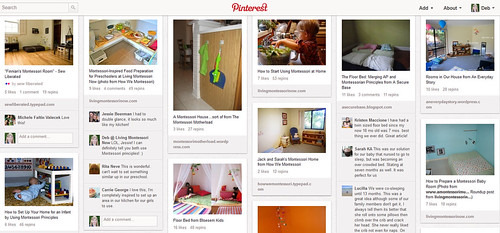Pinterest - Montessori-Friendly Home