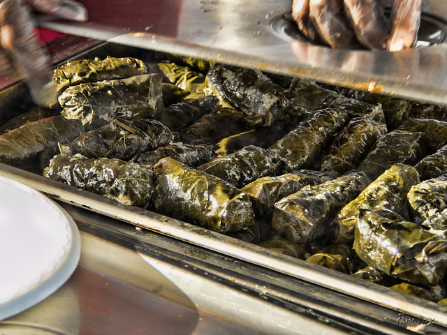Greek Food Festival stuffed grape leaves