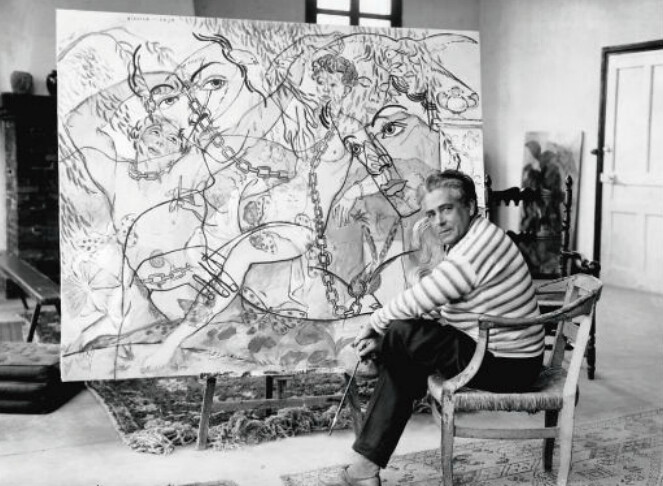 Francis Picabia on the French Rivera, c1930s