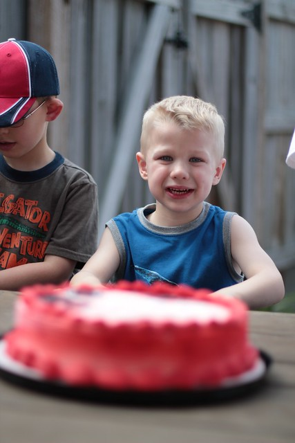 John Warren is 4!