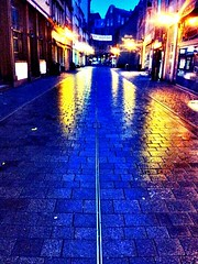 #Colors made by #rain and #light in #Eisenach #city #today.