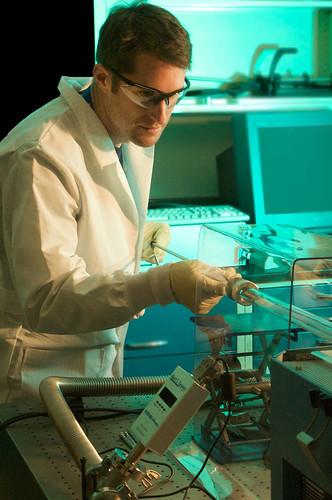 CINT scientist, Andrew Dattelbaum