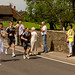 The Torch passes through Cressage