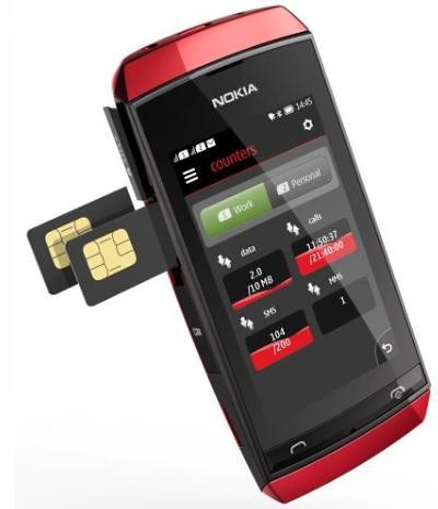 Nokai Asha 305 dual SIM