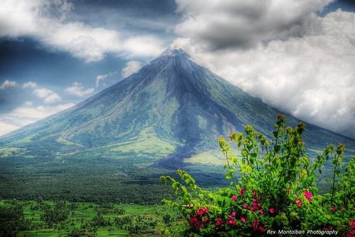 volcano philippines mayon bicol hdr legazpi legazpicity rexmontalbanphotography