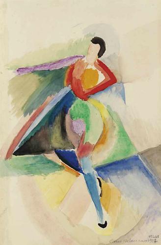 [ D ] Sonia Delaunay - Danseuse (1917) by Cea.