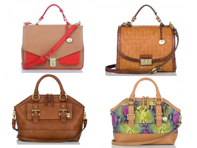 brahmin satchels and sling bags