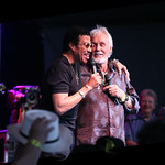What's better than Kenny Rogers? Kenny Rogers with Lionel Richie! Photo by Laura Fedele