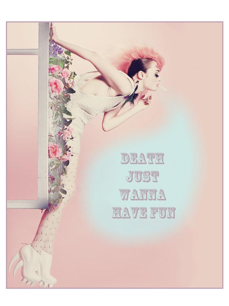 Louise Ebel Pandora Death Just Wanna Have Fun !