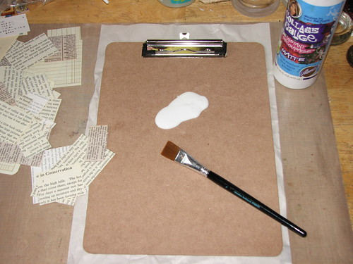 Paint Chip Clipboard 007