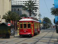 Tram in Canal Street