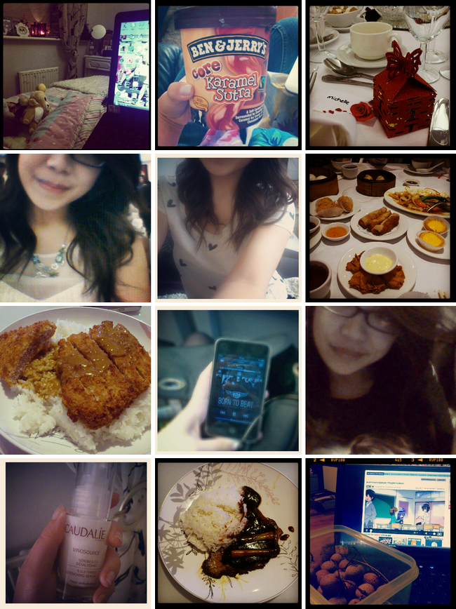 daisybutter - UK Fashion and Style Blog: week in photos, what i did, london, fashion internship, dim sum, btob