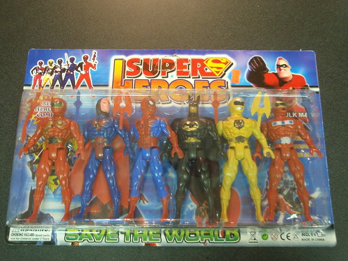 bootleg superheroes