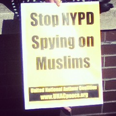 """Stop NYPD Spying On Muslims"""