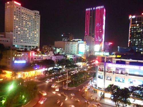 Rex Hotel Bar Ho Chi Minh View