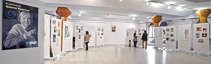 Exposición de Gloria Fuertes en Manzanares el Real