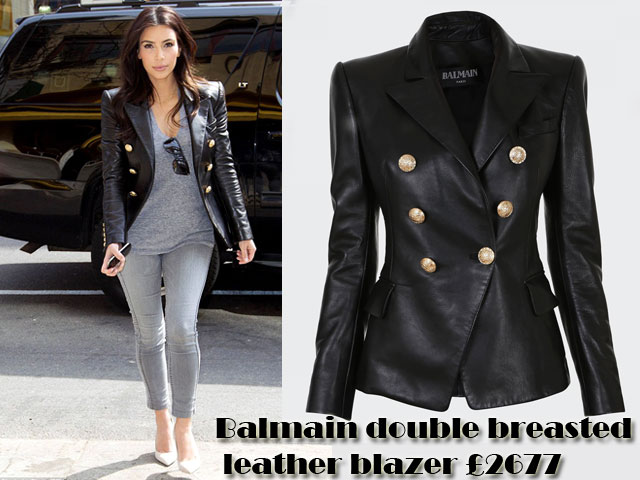 Balmain-double-breasted-leather-blazer