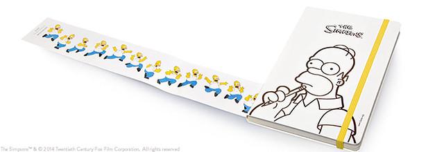 Moleskine*Simpsons