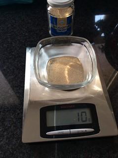 10 gram droge gist