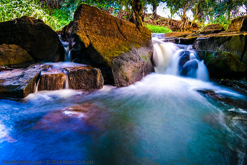 reflection water hawaii waterfall woods rocks stream solitude samsung peaceful tranquility waterfalls serenity kauai poipu streams wilderness tranquil koloa nx30 imagelogger ditchthedslr