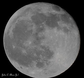 The Moon tonight 4-16-2014  (about midnight)