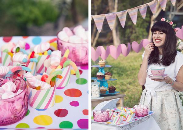 birthday, happy birthday, candy, tea party, סוכריות גומי, מרשמלו, מסיבת תה ,בלוג אופנה, אפונה בלוג אופנה, יומולדת