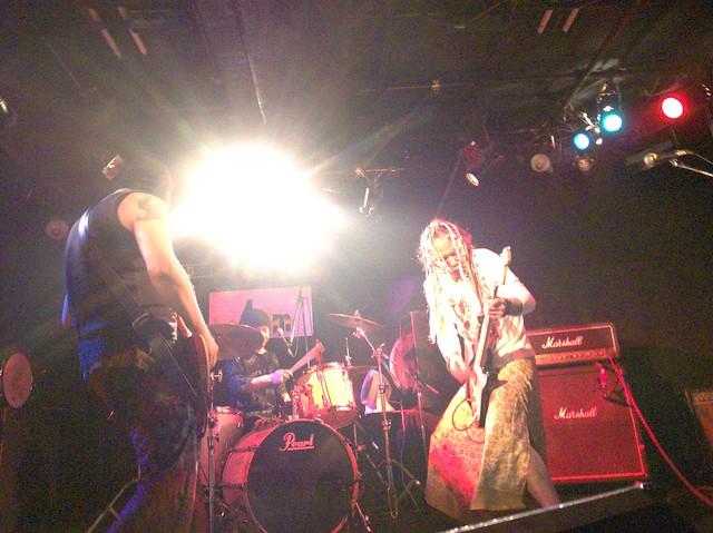 SPUTNIK KOMBINAT live at Adm, Tokyo, 18 Apr 2014. 011