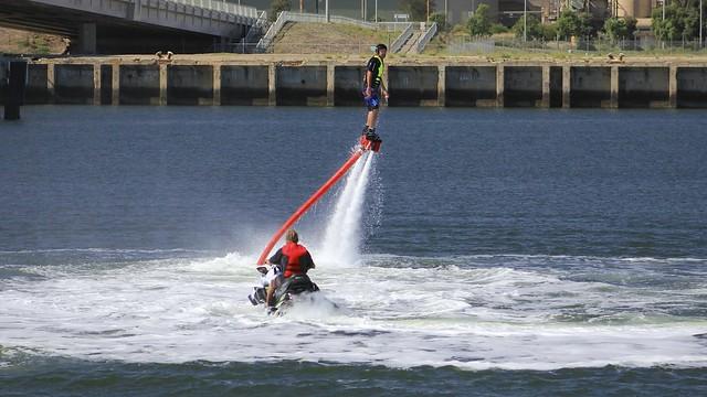 Water-Powered Jetpack